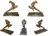 1930 Czech Art Deco bronze athlete sculpture