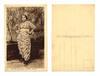 WWI Serbia muslim woman ethnic postcard NICE