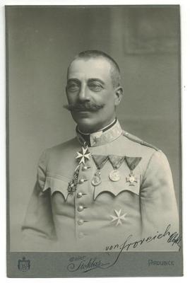 Wwi German Field Marshall Von Froreich Photo
